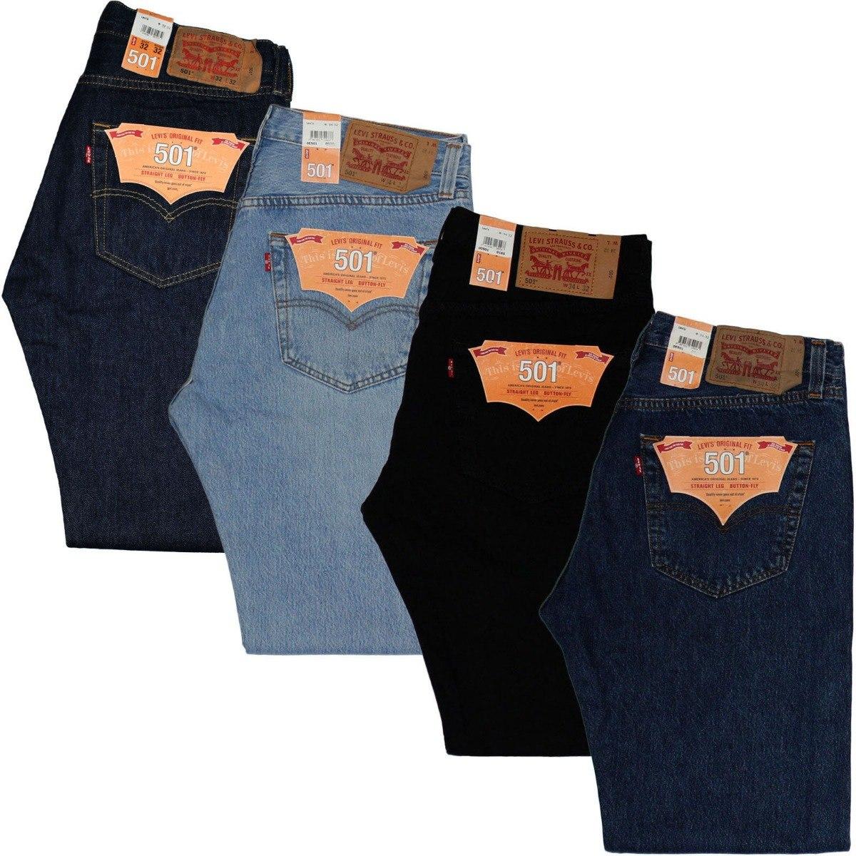 pantalones levi s 501 tallas colores en mercado libre. Black Bedroom Furniture Sets. Home Design Ideas