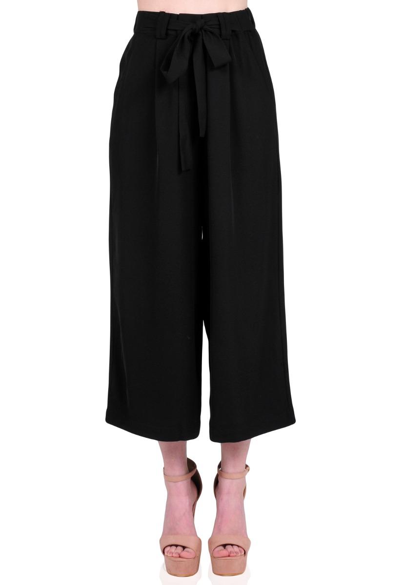 mejores zapatillas de deporte 76ad0 0c14e Pantalones Mujer Aishop Con Cintura Elástica