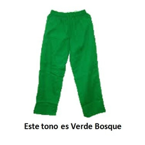 b2d9100f3955b Monos Deportivos Escolares Color Verde en Mercado Libre Venezuela