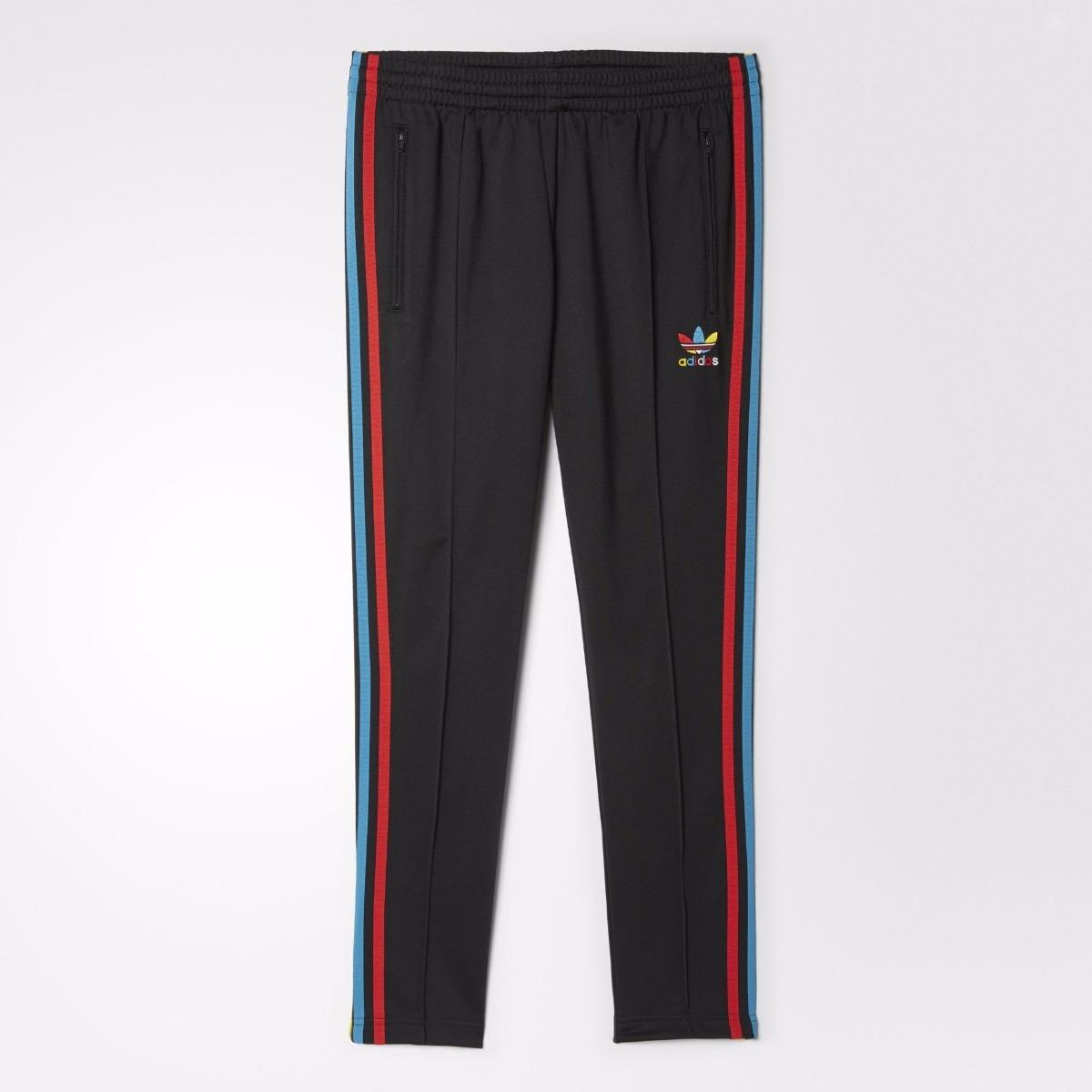 1 Originales Originals Adidas 6r06qb 249 Mujer Pantalones Negros Sst 00 gnSt71a