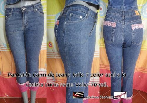 pantalones para dama en 70 mil bs,f varias tallas ofertas.