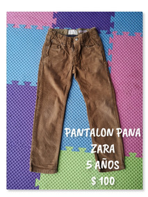 ae37345b7 Pantalones Para Niño Zara - Ropa