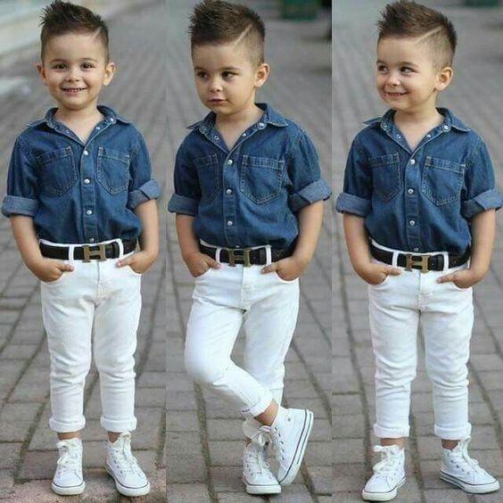 fb456930a Pantalones Para Niños Moda Skinny - Bs. 850