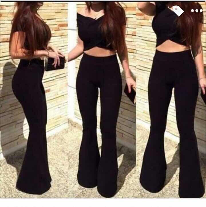 9a7fd11e53d8c Pantalones Pata Elefante -   13.900 en Mercado Libre