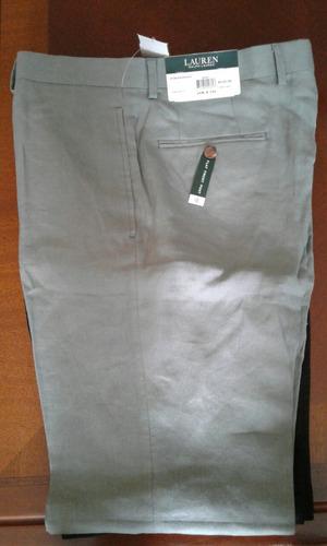 pantalones polo de lino talla 34-32