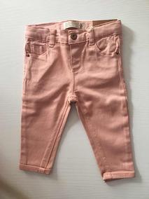 858fa9e6f Pantalones Rosa Modelo Slim Zara Baby Niña Original