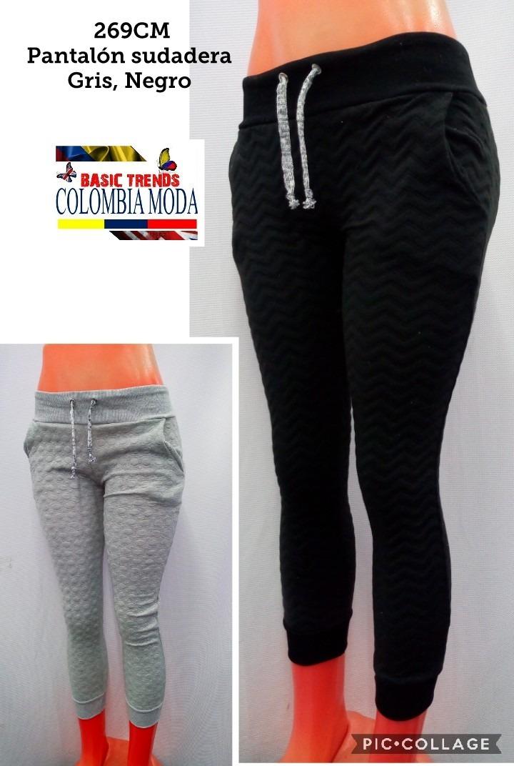 Pantalones Sudadera Para Mujer Diseño Exclusivo -   35.000 en ... 4be6803ffddbd