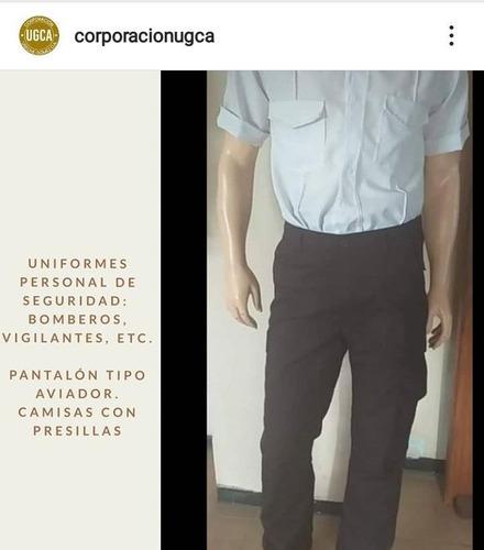 pantalones tipo aviador, bombero, personal de seguridad, etc