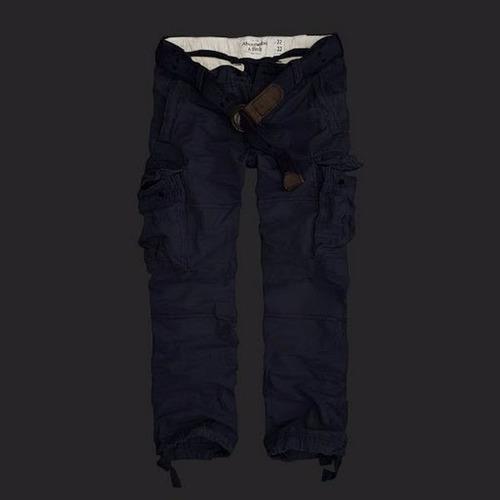 pantalones tipo cargo abercrombie jeans