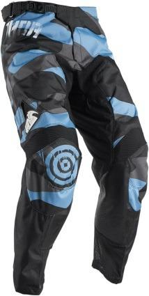pantalones todoterreno thor pulse covert 2017 azul/negro 36
