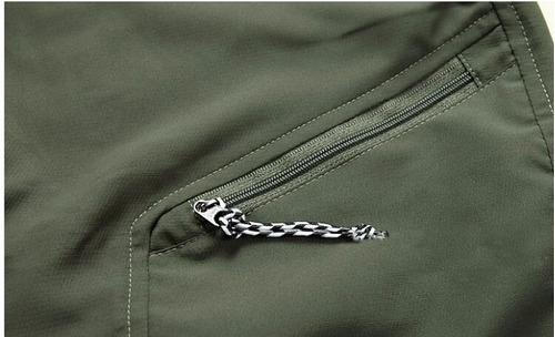 pantalones trekking short desmontable secado rapido liviano