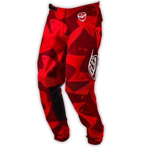 pantalones troy lee designs se air cosmic camo rojo 30 usa