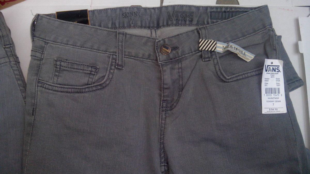 Pantalones Vans Skinny Demin Womens 100% Originales -   599.00 en ... ad9ad8b7e5b