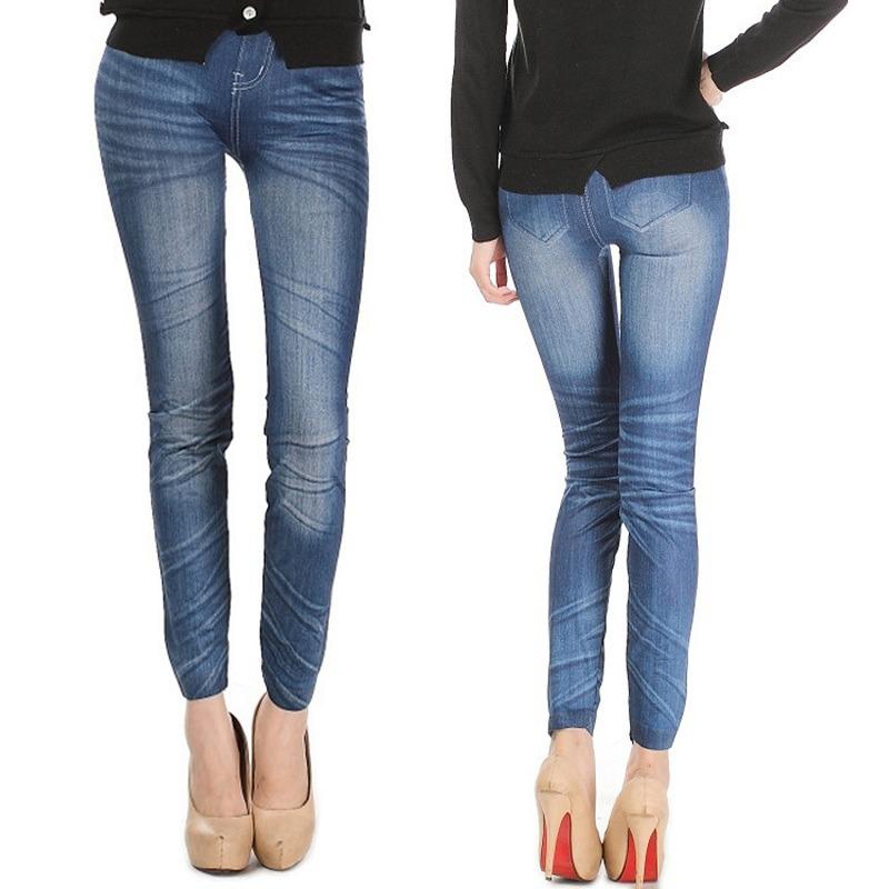 91ee193c702 Pantalones Vaqueros Mujer Elástico Delgado... (blue 2) -   62.990 en ...