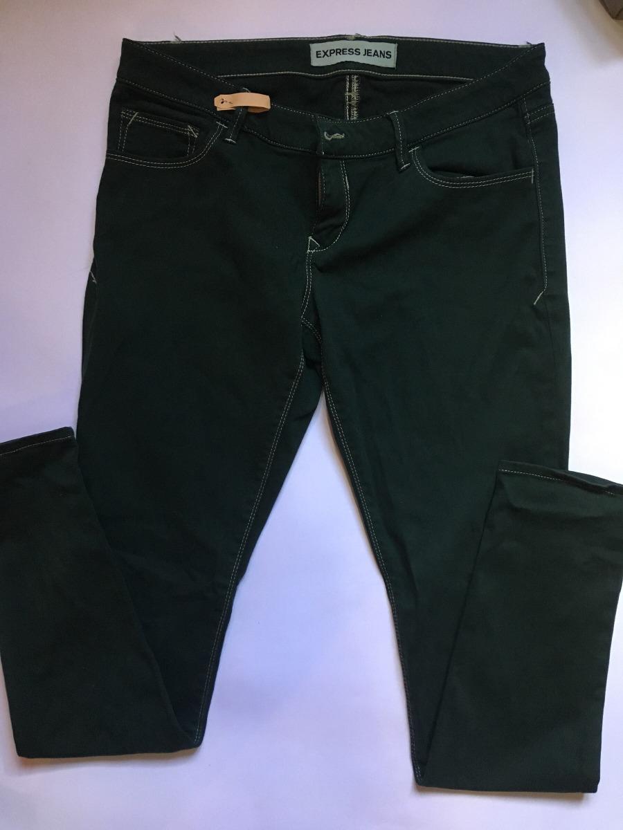 10739b5a407 mujer marca Cargando 6 pantalones verdes talla express de zoom wxHpBv