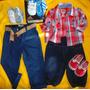Ropa Lote Niño Bebe Zapatilla Adidas Kids