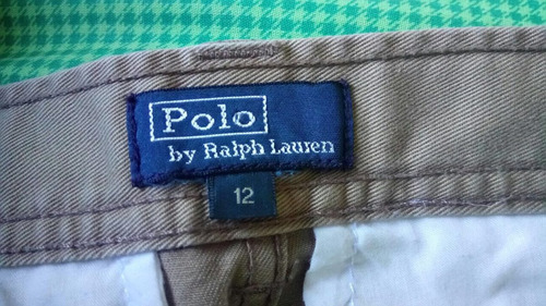 pantaloneta polo ralph laurent