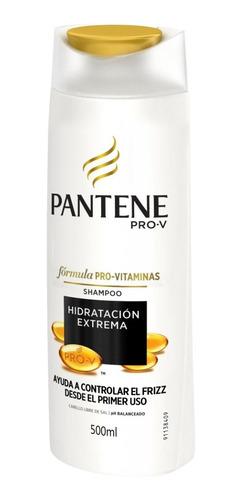 pantene shampoo hidratación extrema 500ml