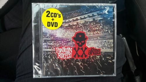 panteón rococo xx 20 años 2 cd +dvd café tacuba oscar chavez