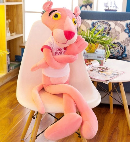 pantera cor de rosa 1,7 mts pelúcia gigante com frete grátis