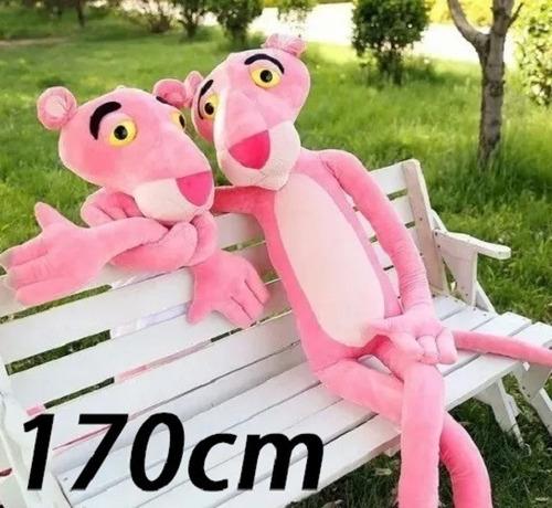 pantera cor de rosa 170cm pelúcia enorme grande importada