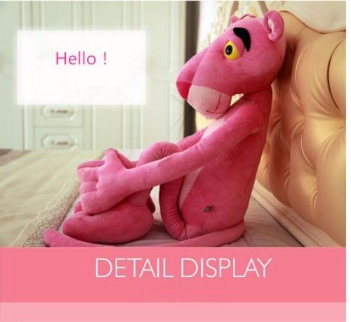 pantera cor de rosa bicho pelúcia brinquedo infantil