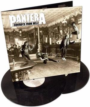 pantera cowboys from hell lp doble - nuevo sellado !
