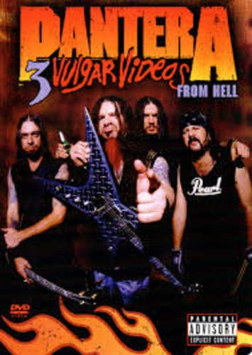 pantera vulgar videos from hell dvd nuevo