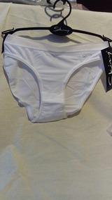 2fef549a5 Pantie O Bikini Color Blanco De Microfibra Skiny
