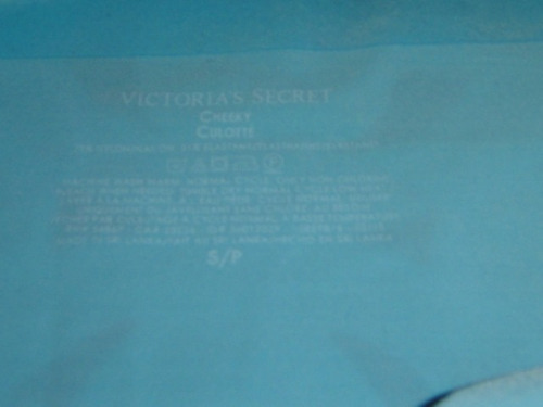 pantie victoria secrets cachetero celeste small ( 978 )