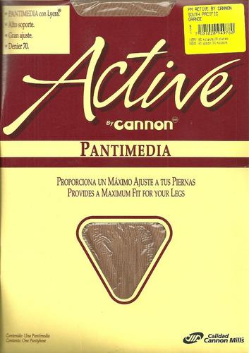 pantimedia active maximo ajuste a tus piernas denier 70
