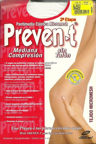 pantimedia elastica prevent mediana compresion 4 pack