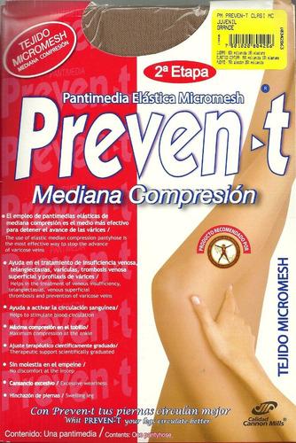 pantimedia elastica prevent mediana compresion varice 6 pack