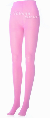 pantimedia semi opaca rosa talla chica