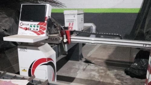 pantografo c/ plasma  cmc  y  balancin 40 tn