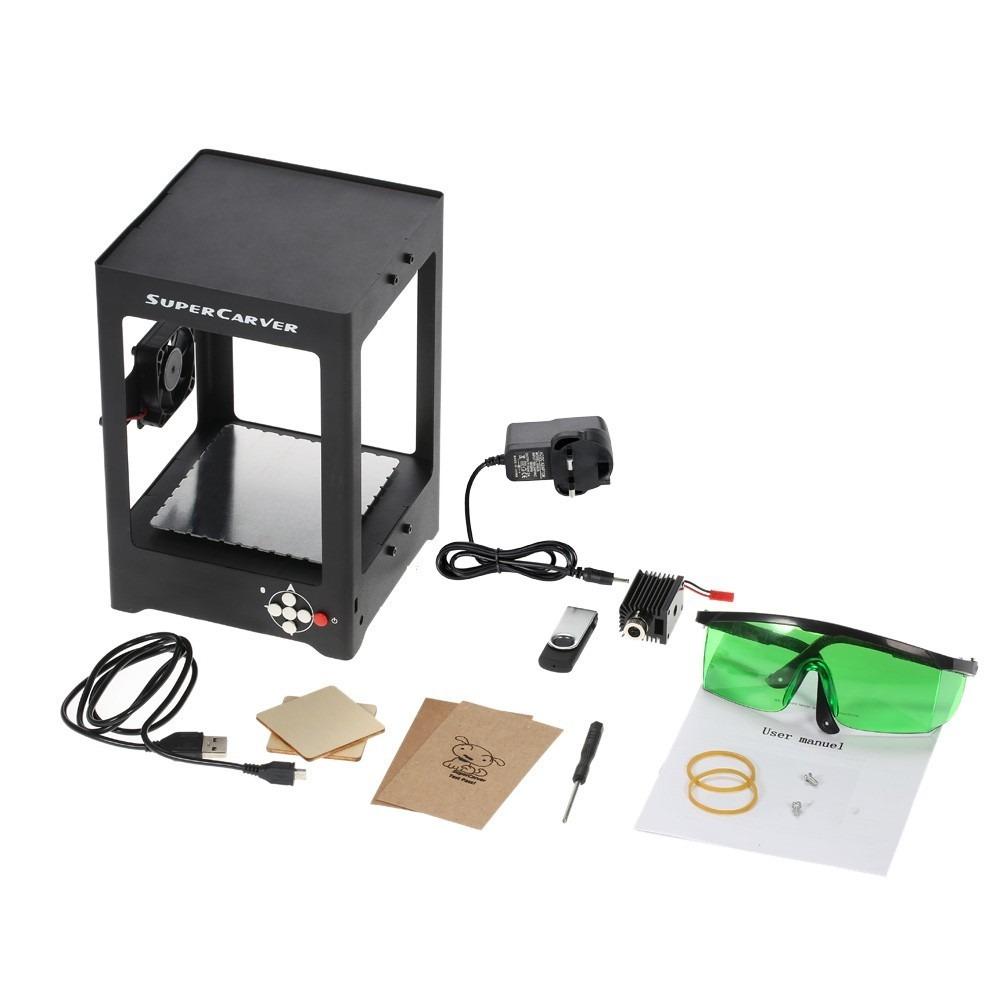 Pantografo Grabador Laser 1000mw Impresora C/ Software - $ 7.300,00 ...
