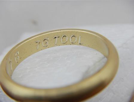 pantografo  grabadora interiores de  anillos joyería