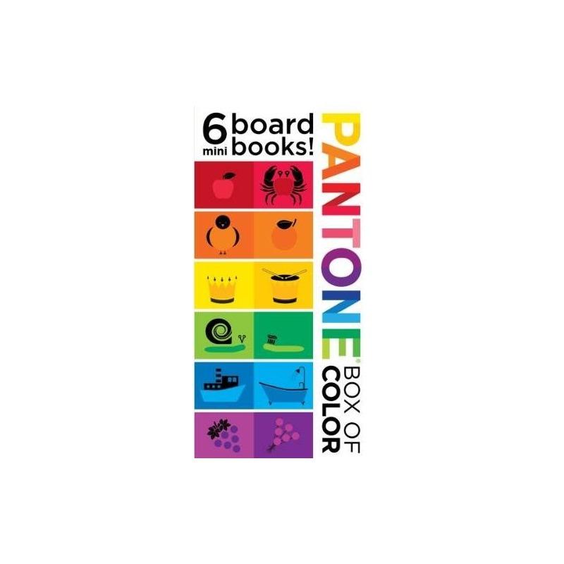Pantone: Caja De Color: ¡6 Mini Libros De Mesa! - $ 97.621 en ...