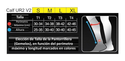 pantorrillera compression compressport ur2 v2