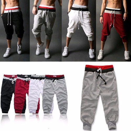 pants 3/4  envio gratis moda asiatica short harem bermuda