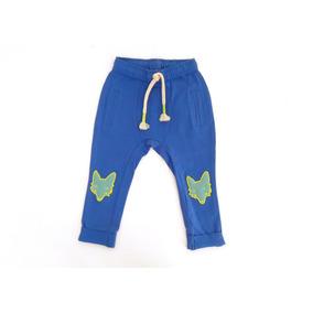 e5af1b6e8cecd Pants Jogger Niño Y Niña Azul Y Beige Talla 4 Y 6 Moderno