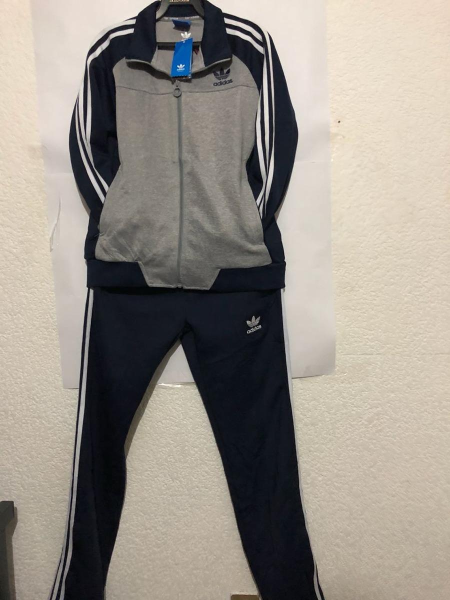 Pants adidas Azul Con Gris Mujer Completo -   925.00 en Mercado Libre de7900f2c3b2