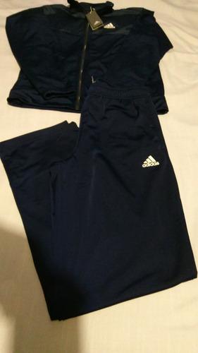 pants adidas conjunto deportivo azul con gris barato