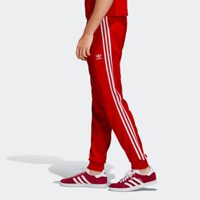 Pants adidas Sst Track Red 100% adidas Originals