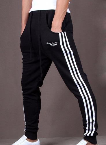 pants baggy jogger slim fit deportivos moda japonesa harem