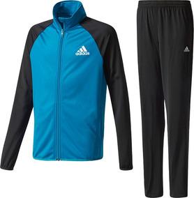 aa92824cca03 Pants Completo adidas Niños Azul Negro Yb Ts Entry Oh Ce8589