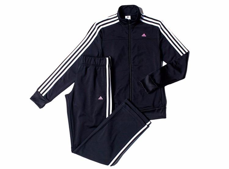 db780f1a93edd Pants Con Sudadera Para Entrenar Mujer adidas S23596 Zipper ...