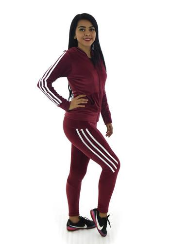 pants dama conjunto mujer sudadera gorro malla t qjyq08276