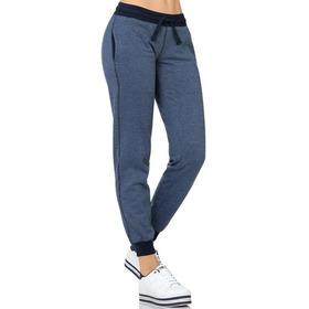 Pants G.american Mujer Azul Algodon Poliester Beauty