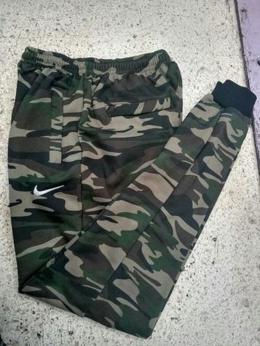 pants jogger algodón nike camuflaje verde militar